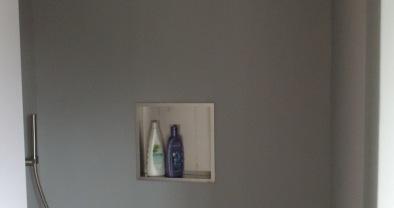 Gietvloer Badkamer Douche : Badkamervloer design gietvloer