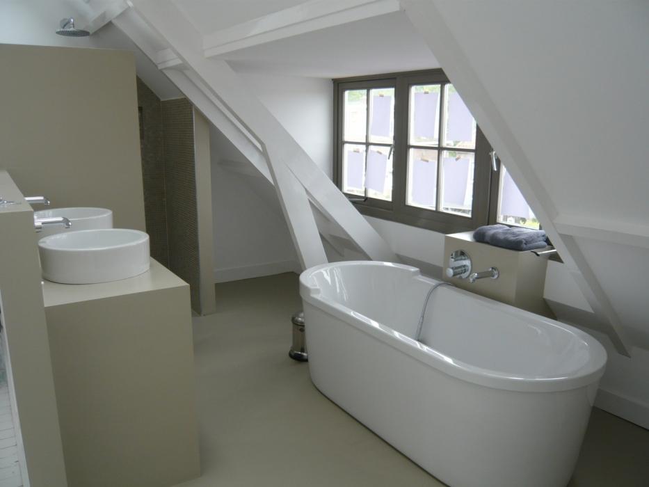 badkamer gietvloer   design gietvloer