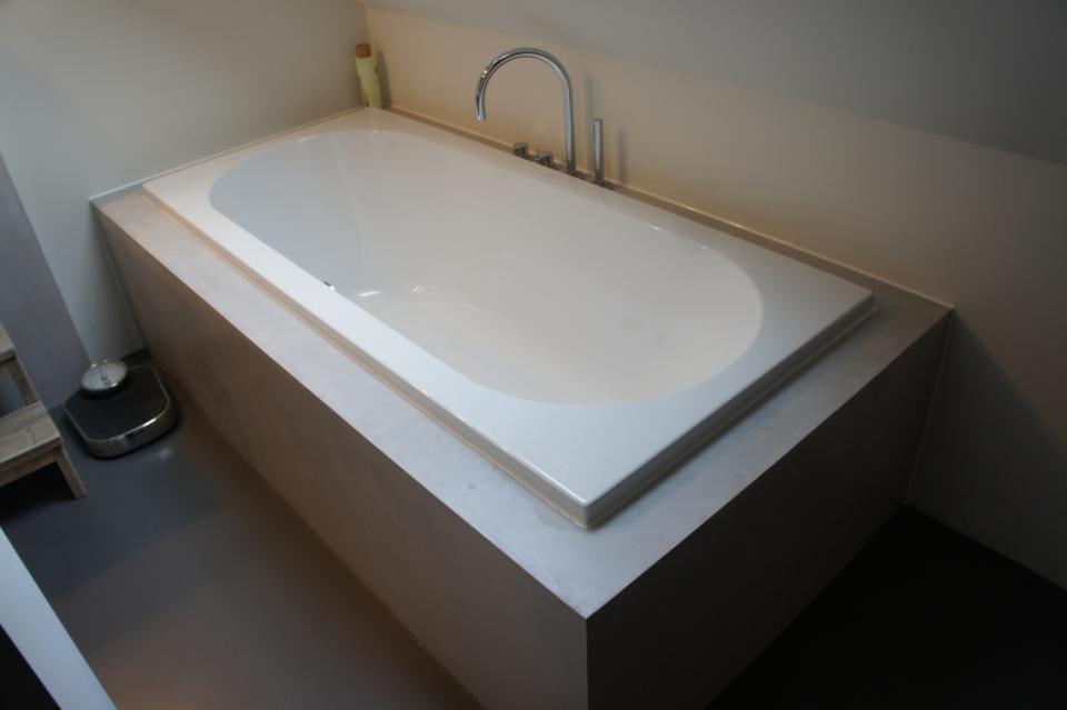 Gietvloer Voor Badkamer : Badkamervloer design gietvloer